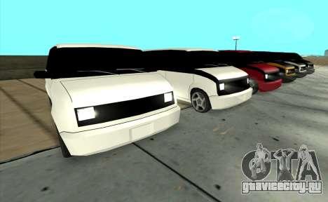 Moonbeam Kaef для GTA San Andreas вид сзади слева