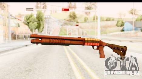 Tactical Mossberg 590A1 Black v2 для GTA San Andreas