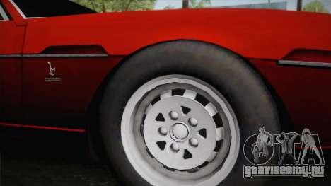 Lamborghini Espada S3 39 1972 для GTA San Andreas вид сзади слева