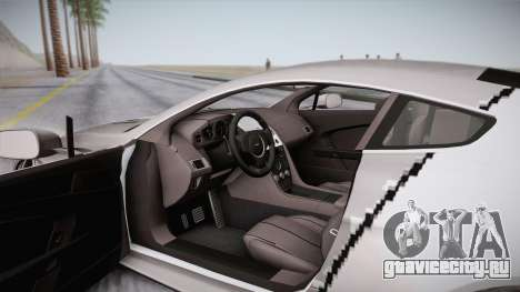 NFS: Carbon TFKs Aston Martin Vantage для GTA San Andreas вид сбоку