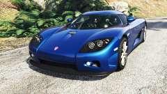 Koenigsegg CCX 2006 [Autovista] v2.0 [replace]
