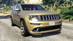 Jeep Grand Cherokee SRT-8 2014 [replace] для GTA 5