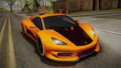 HTT Plethore LC750 2012 для GTA San Andreas