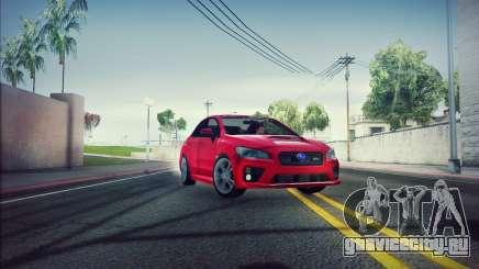 Subaru WRX 2015 для GTA San Andreas