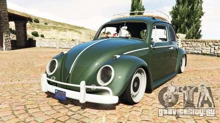 Volkswagen Fusca 1968 v1.0 [replace] для GTA 5