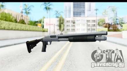Tactical Mossberg 590A1 Chrome v4 для GTA San Andreas