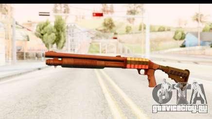 Tactical Mossberg 590A1 Black v2 для GTA San Andreas