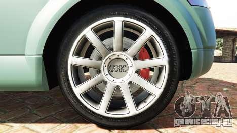 Audi TT (8N) 2004 v1.1 [add-on] для GTA 5 вид сзади справа
