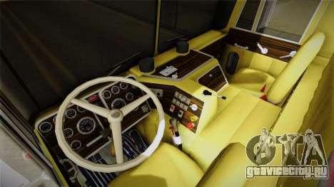 Peterbilt Monster Truck для GTA San Andreas вид сзади