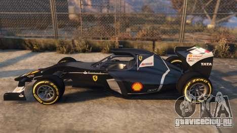 Ferrari FXi1 для GTA 5 вид слева