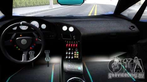 GTA V Pegassi Lampo для GTA San Andreas вид изнутри