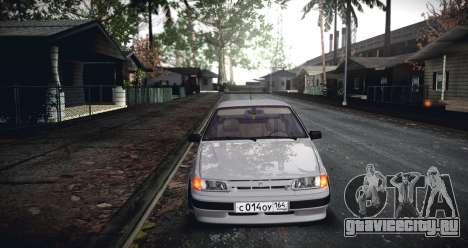ВАЗ 2114 SamaraStance для GTA San Andreas вид сзади слева