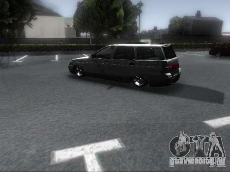 VAZ 2111 Audio для GTA San Andreas вид сзади слева