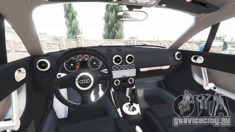Audi TT (8N) 2004 v1.1 [add-on] для GTA 5 вид справа
