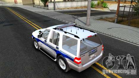 Ford Expedition SAST CVE 2008 для GTA San Andreas вид сзади слева