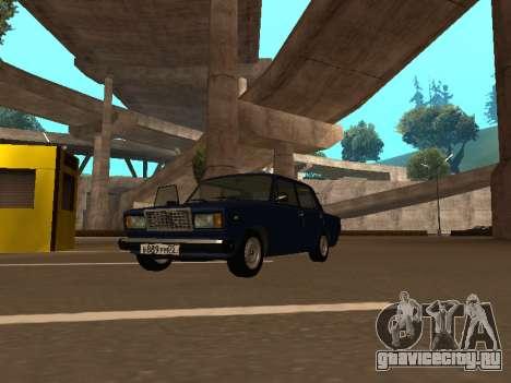 ВАЗ 2107 (Проект из жизни Жига Против Всех) для GTA San Andreas