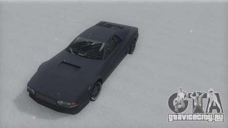 Cheetah Winter IVF для GTA San Andreas