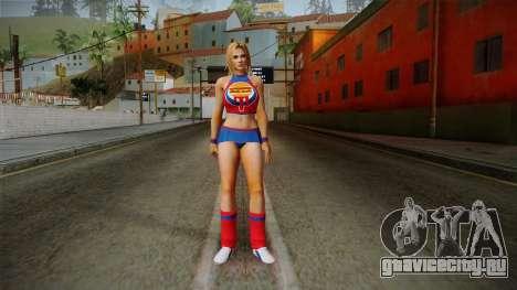 Tina Armstrong (Burger Shot) для GTA San Andreas