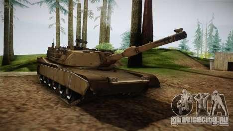 Abrams Tank для GTA San Andreas вид справа