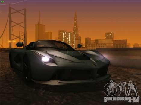 LaFerrari 2017 для GTA San Andreas вид слева