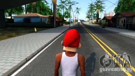 Gnome Mask From The Sims 3 для GTA San Andreas третий скриншот