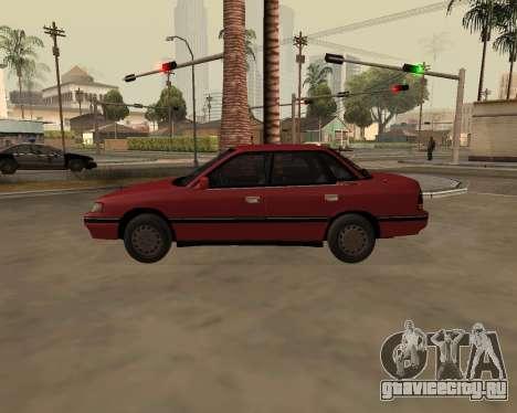 Subaru Legacy 1992 для GTA San Andreas вид слева