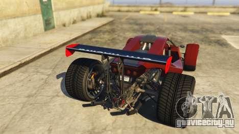 Raptor Car v2 для GTA 5 вид сзади слева