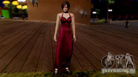 Resident Evil 6 - Ada Dress для GTA San Andreas второй скриншот