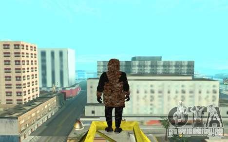Grove Street Gang для GTA San Andreas третий скриншот