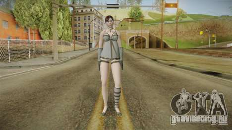 Resident Evil - Claire Nightgown для GTA San Andreas