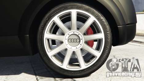 Audi TT (8N) 2004 v1.1 [replace] для GTA 5 вид сзади справа