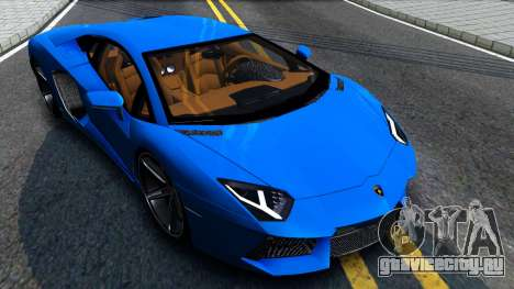 Lamborghini Aventador LP700-4 Light Tune для GTA San Andreas вид справа