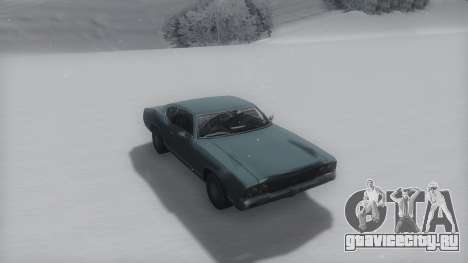 Sabre Winter IVF для GTA San Andreas