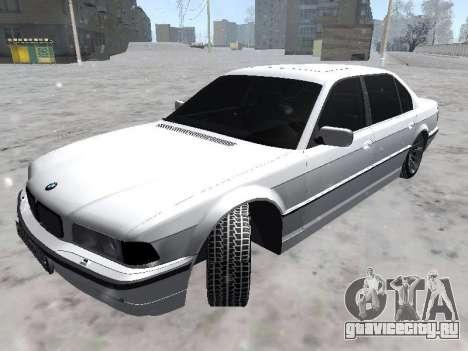 BMW 740I для GTA San Andreas