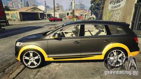 2009 Audi Q7 AS7 ABT для GTA 5