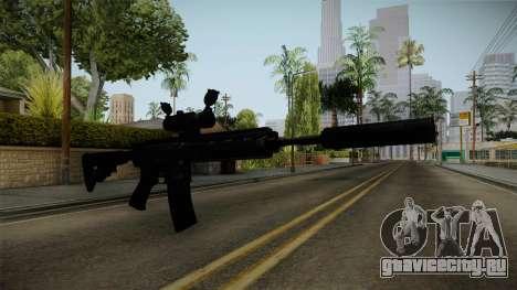 HK416 v4 для GTA San Andreas второй скриншот