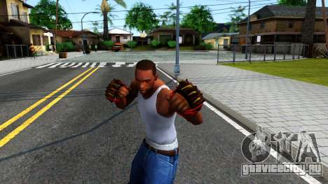 Red Bear Claws Team Fortress 2 для GTA San Andreas третий скриншот