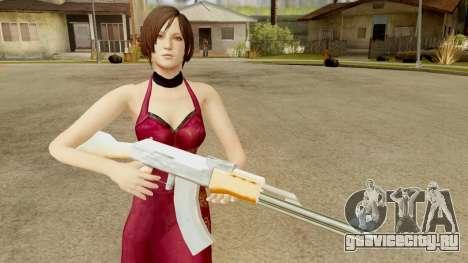 Resident Evil 6 - Ada Dress для GTA San Andreas