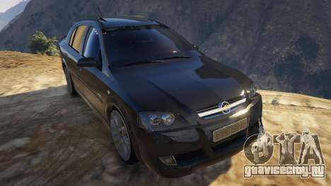 Chevrolet Astra GSI 2.0 16V для GTA 5 вид сзади