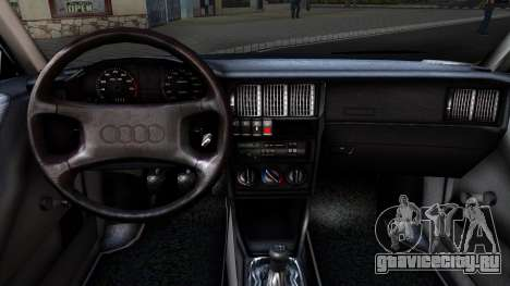 Audi 80 B3 для GTA San Andreas вид сзади