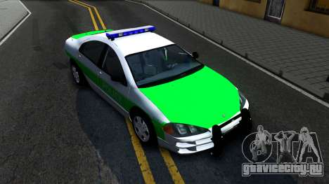 Dodge Intrepid German Police 2003 для GTA San Andreas вид справа