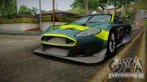 Aston Martin Racing DBRS9 GT3 2006 v1.0.6 для GTA San Andreas салон
