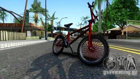 BMX Enhance для GTA San Andreas вид слева