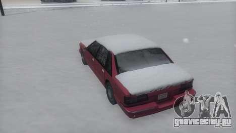 Premier Winter IVF для GTA San Andreas вид справа