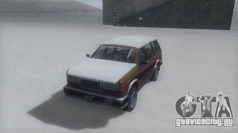 Landstalker Winter IVF для GTA San Andreas