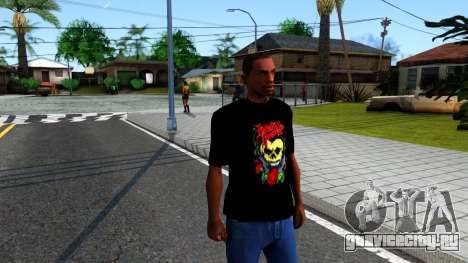 Bullet For My Valentine T-shirt для GTA San Andreas второй скриншот