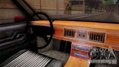 HD Premier для GTA San Andreas вид изнутри