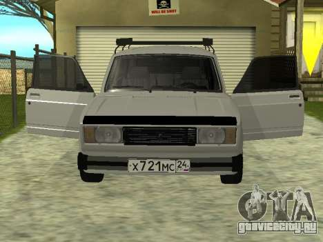 ВАЗ 2104 Красноярск для GTA San Andreas вид слева