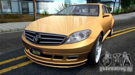 GTA V Benefactor Schafter Wagon для GTA San Andreas
