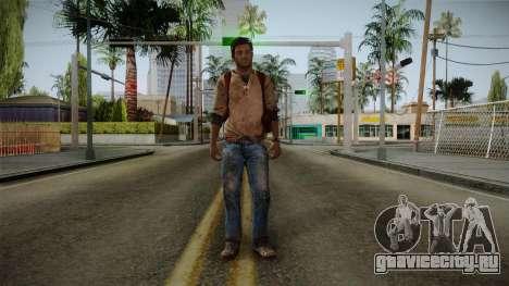 Uncharted Golden Abyss - Nathan Drake для GTA San Andreas второй скриншот